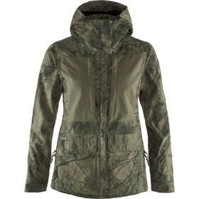 Fjällräven Lappland Hybrid Jacket Women camo green-laurel green
